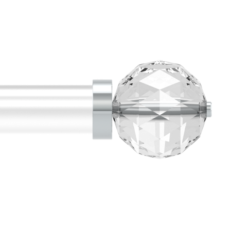 Карниз Bradley Collection Cut Crystal Ball